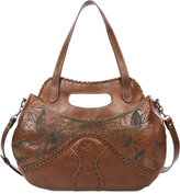 Patricia Nash Cuban Burned Large Bayamo Satchel