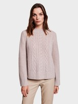 White + Warren Cashmere Relaxed Mockneck