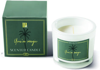 R & E Me & Mats - You Re Magic Luxury Scented Candle - Green/White