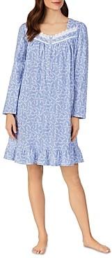 Eileen West Long Sleeve Short Nightgown