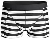 Bjorn Borg Pool Side Stripe Trunks, Black/white