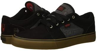 Etnies Barge LS x Metal Mulisha (Black/Dark Grey/Gum) Men's Shoes