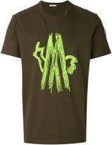 Moncler embroidered patch T-shirt