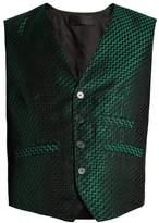 Haider Ackermann Gaudi Silk-jacquard Waistcoat