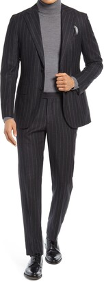 Suitsupply Stripe Wool Blend Suit