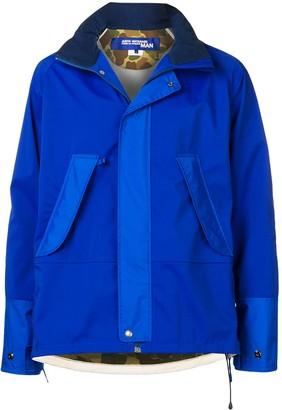 Junya Watanabe contrast panel jacket