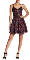 Jump Short Metallic Lace Ball Gown