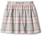 Gap Plaid flannel flippy skirt