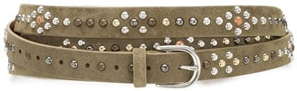 Isabel Marant Studded Suede Belt