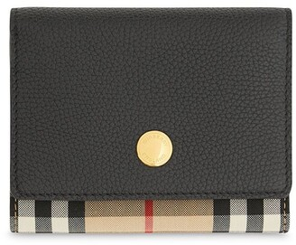 Burberry Small Vintage Check Folding Wallet