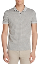 BOSS Penrose Microstripe Slim Fit Polo Shirt
