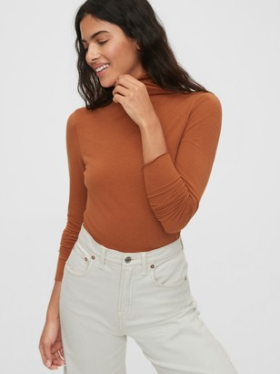 Gap Fitted Funnel-Neck T-Shirt