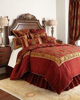 Horchow Austin Horn Classics King Scarlet Comforter