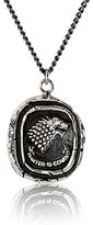 Pyrrha Unisex For HBO's Game of Thrones Sterling Silver House Stark Necklace, 22""