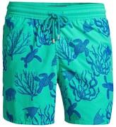 Vilebrequin Coral Turtles Print Swim Shorts