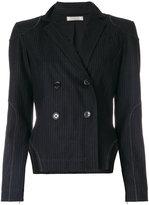 Nina Ricci cut-out pinstripe blazer