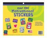 Paper Magic 458040 Eureka Jumbo Motivational Sticker Book 480 Count
