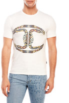 Just Cavalli Snake Logo T-Shirt