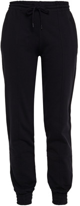 McQ Appliqued French Cotton-terry Track Pants