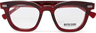 Kowalski 49 Square-Frame Acetate Sunglasses