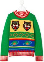 Gucci Kids - knitted sweater - kids - Cashmere/Wool - 4 yrs