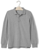 Gap Pique long sleeve polo
