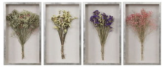 Uttermost Summer Bouquets Set of 4 Shadow Boxes