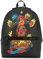 Bally x Swiss Beatz backpack