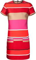 Lanvin candy stripe shift dress - women - Silk/Polyester - 38