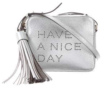 Anya Hindmarch Have A Nice Day Crossbody Bag w/ Tags