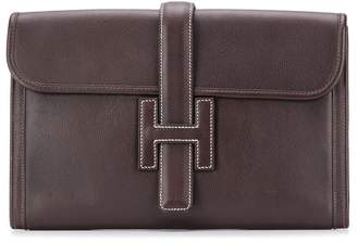 Hermes 2000s pre-owned Jige MM clutch