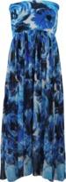 Fuzzi Strapless Maxi Skirt Dress