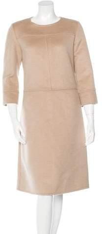 Chloé Virgin Wool & Angora Dress
