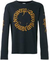 Dries Van Noten long sleeved sweatshirt with branded detail