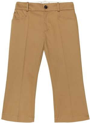 Gucci Kids Stretch-cotton pants