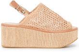 Robert Clergerie Fiesta sandals - women - Goat Skin/Leather/Straw/rubber - 37