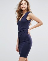 French Connection Manhattan Overwrap Dress