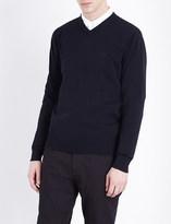 Armani Jeans V-neck knitted jumper