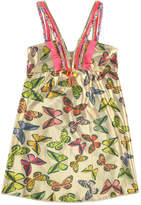 Pate De Sable Printed beach dress