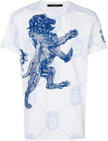 Billionaire lion printed T-shirt