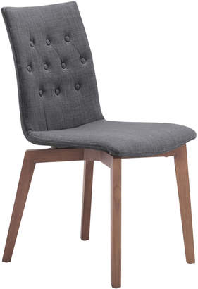 ZUO Mod Orebro Graphite Dining Chair