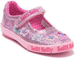 Lelli Kelly Kids Glitter Summer Dolly Mary Jane Sneaker (Toddler, Little Kid, & Big Kid)