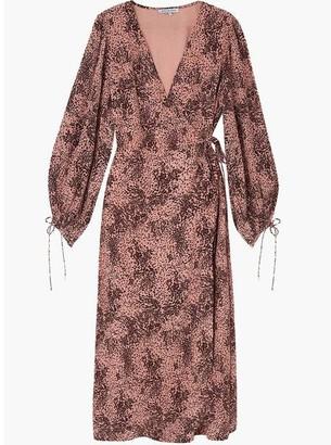 Lily & Lionel Fifi Pink Leopard Dress - Large