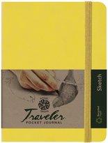 Pentalic Art Traveler Pocket Journal Sketch Book