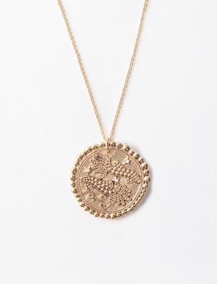 Maje Pisces zodiac sign necklace