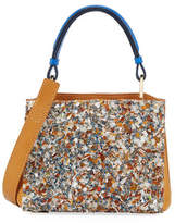 VBH Seven 20 Crystal Embellished Tote Bag, Tan