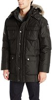 Pajar Men's Tyler Down Parka with Removable Fur Trim