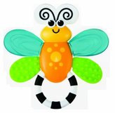 Sassy Flutterby Teether Developmental Toy (Discontinued by Manufacturer) by