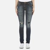 Nudie Jeans Women's Skinny Lin Jeans Sam Replica