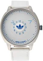 adidas ADH3127 Silver-Tone & White Watch